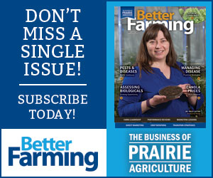 Better Farming Prairies April 2020 Subscribe