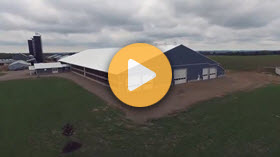 Guided Tour of a WeCover Fabric Roof Barn