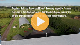 Renewable energy powers food production at Just Food Farm