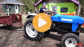 Farming with an Electric Tractor