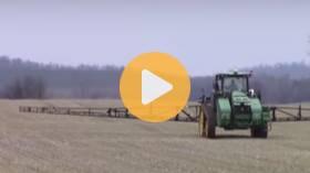 Fertilizing winter wheat