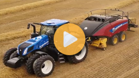 New Holland's Genesis T8 tractor