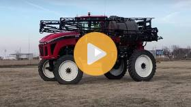 Apache AS1220 sprayer sells after 145 bids