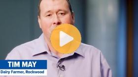 Casting a light on mental health: Tim May, Dairy Farmer, Rockwood