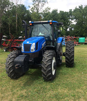 2014 New Holland T6165