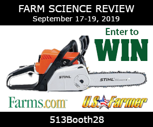 2019 Farm Science Review Chainsaw Draw