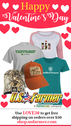 US Farmer Valentine's Day 2020