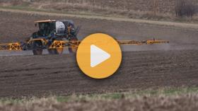 Applying Winter Wheat Pre-Emerge Herbicides