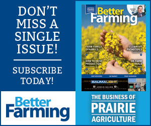 Better Farming Prairies July/Aug 2020 Subscribe