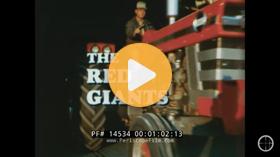1967 Massey Ferguson 1100 1130 The Red Giants Promo Film