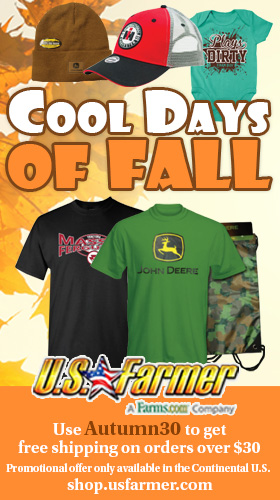 US Farmer Cool Days of Autumn 2021
