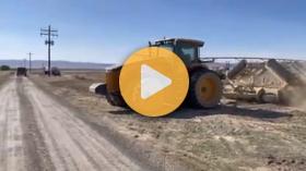 Seeding barley