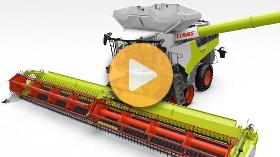 CLAAS LEXION 8000-7000 Grain Tank