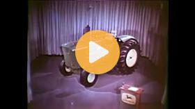 Vintage John Deere commercial
