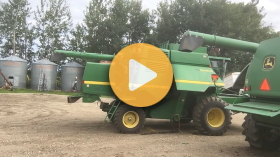 Reparing a combine