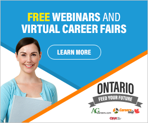 AgCareers Ontario Virtual Career Fairs