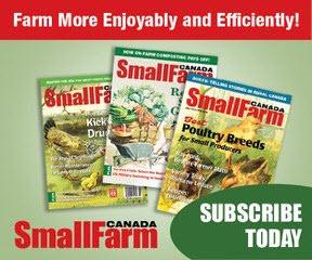 Small Farm Canada Subscriptions