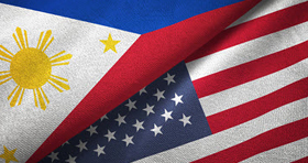 GettyImages-US and the Philippines flags